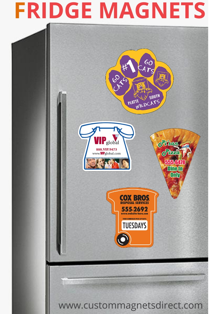 Custom Refrigerator Magnets – Get Your Brand Promoted For Free!