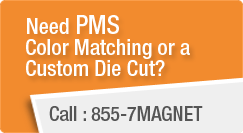 Need PMS Color Matching Or A Custom Die Cut?
